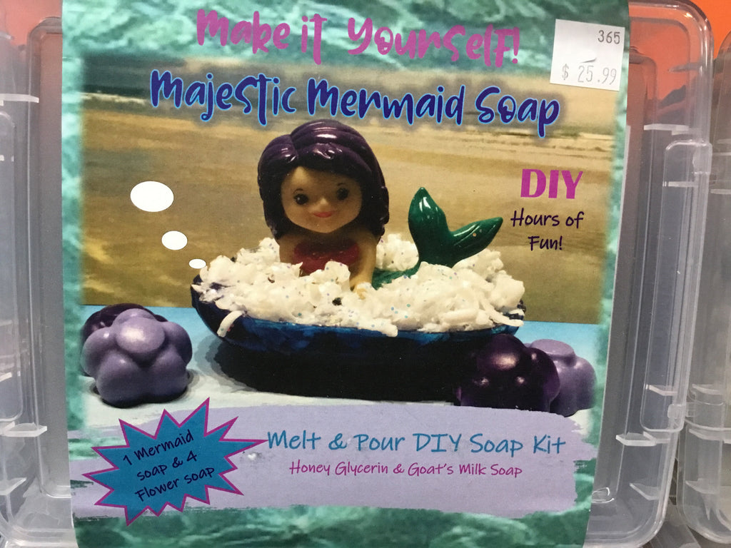 Make It Yourself -- Majestic Mermaid Soap Kit