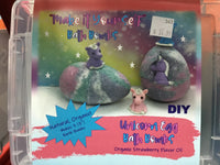 Make It Yourself -- Unicorn Egg Bath Bombs