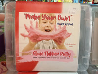 Make Your Own -- Slime Flubber Putty (Pink) -- Pink Grapefruit Scent