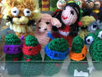 Handmade Crocheted Finger Puppets