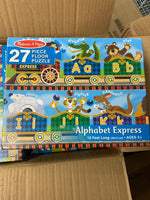 Alphabet express 27 piece floor puzzle