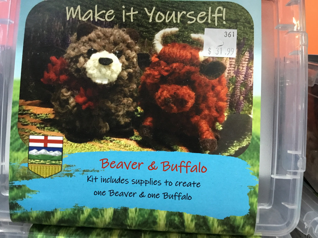 Make It Yourself! -- Beaver & Buffalo