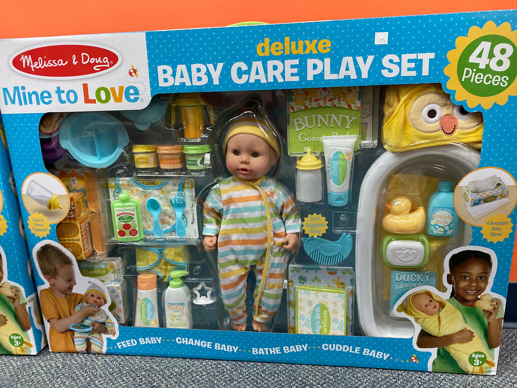 Baby care play set