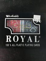 Royal Playing Plastic Cards