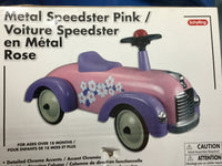 Metal Speedster — Pink