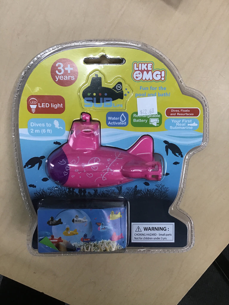 LikeOMG! Sublife Bath Toy