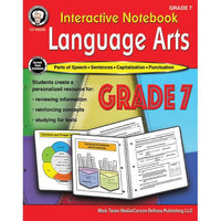 Interactive Notebook Language Arts Grade 7