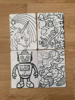 Kids Coloring Puzzles
