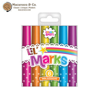 Lil' Marks Mini Markers -- 6 Pack