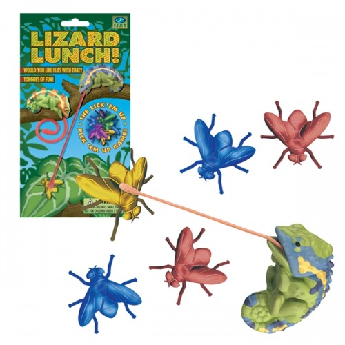 Club Earth Lizard Lunch!