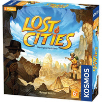 Lost Cities Card Game--With 6th Expedition