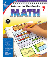Interactive Notebooks: Math Resource Book Grade 7