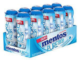 Mentos Gum Sugar Free Green Tea Fresh Mint