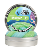Crazy Aaron's Thinking Putty -- Mystifying Mermaid  3.5