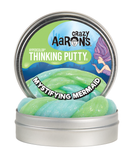 "Mystifying Mermaid- 4"" Hypercolor Thinking Putty"