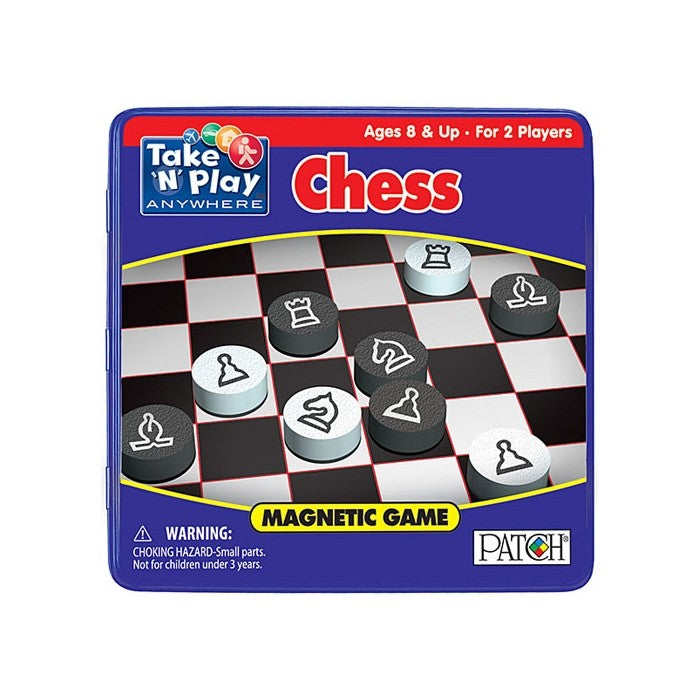 Chess Game tin