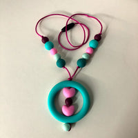 26 inch Chewelry Necklace- Turquoise Ring