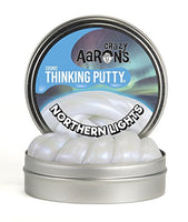 Crazy Aaron's Thinking Putty -- Northern Lights  3.5