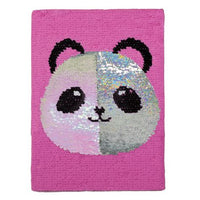 Panda Sequin Journal