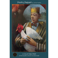Poultry Pageant; 500-pc Velvet-Touch Jigsaw Puzzle