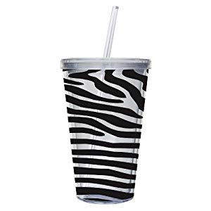 Acrylic Tumbler w/Lid and Straw -- 16oz