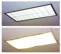 Fluorescent Light Classroom  Filters White - Set of 4