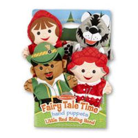 Fairy Tale Time Hand Puppets-Little Red Riding Hood