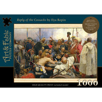 Reply of the Cossacks; 1000-pc Velvet-Puzzle