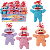 Sock Monkey Babies -- Assorted Colors
