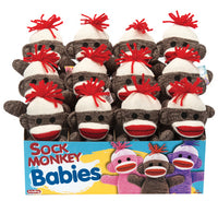 Sock Monkey Babies-Brown