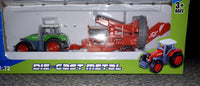 Die Cast Farm Tractor