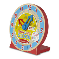 Turn & Tell Clock by Melissa and Doug