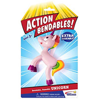 Action Bend-Deez! Bendable Unicorn
