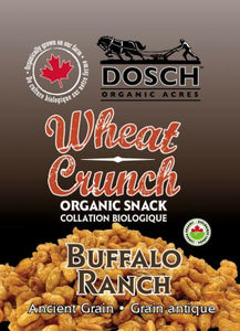 Wheat Crunch Organic Snack- Buffalo Ranch 40 g bag