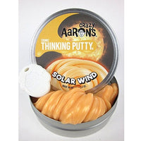 "Crazy Aaron's Thinking Putty — Solar Wind  3.5"" tin"