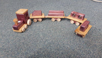Wooden Train Locally Hand Made