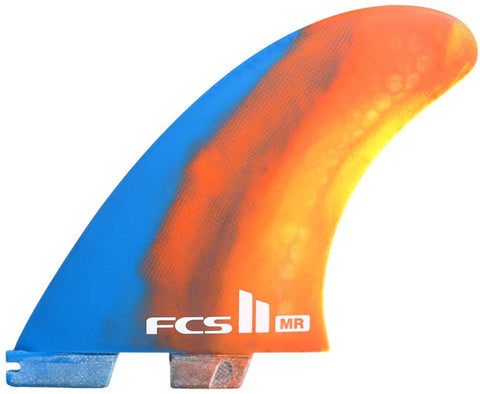 FCS II MARK RICHARDS PERFORMANCE CORE (PC) TRI TWIN + STABILISER FINS