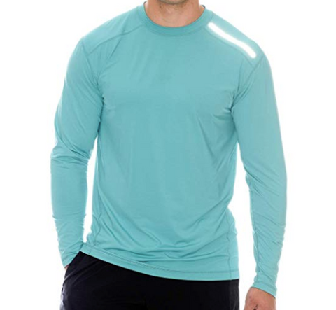 BloqUV Men's Jet Long Sleeve Sun Protection Shirt