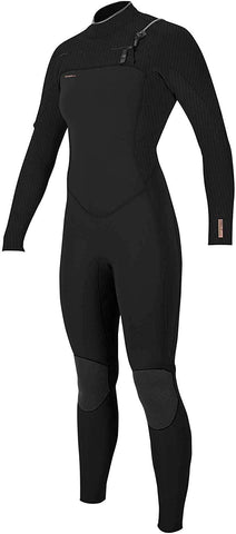 O'Neill Women's Hyperfreak 4/3+mm Chest Zip Full Wetsuit