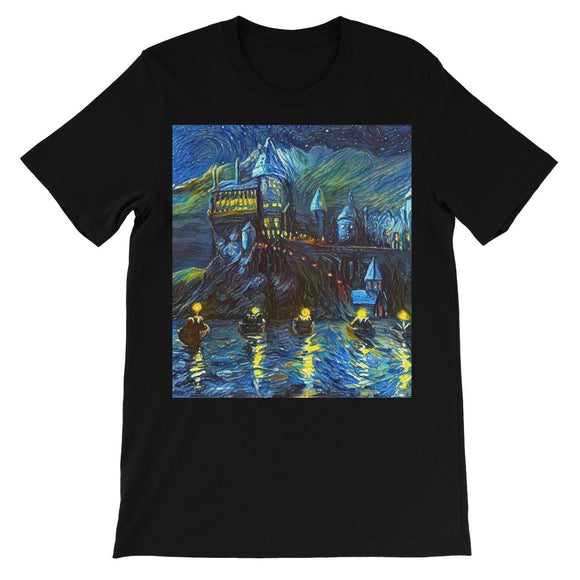 hp-castle-night-1 Kids TShirt