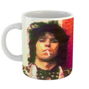 Westlake Art - Keith Richards Rolling Stones Guitarist Coffee Mug 11 oz - Modern Abstract Artwork for Home Office Decoration