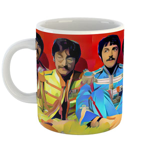 Westlake Art - The Beatles Rock Band Coffee Mug 11 oz - Modern Abstract Artwork for Home Office Decoration