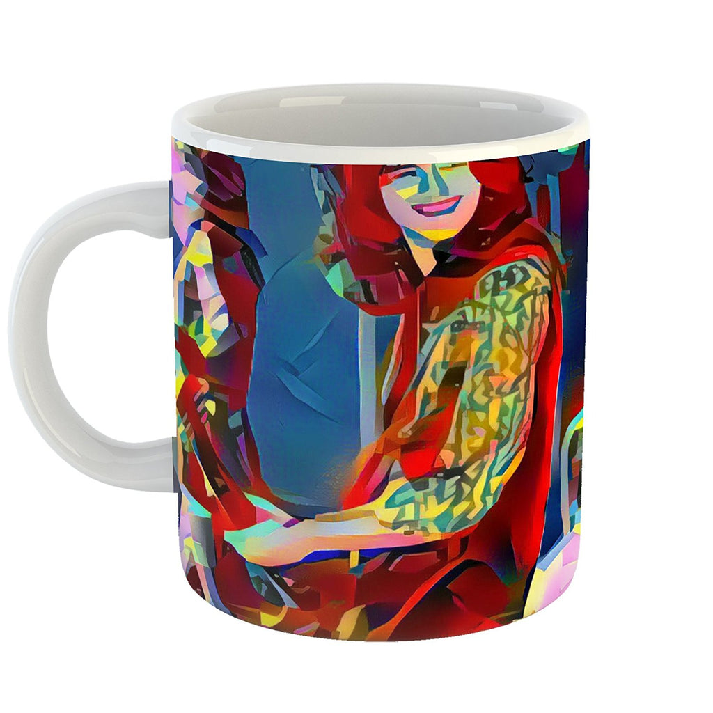 Westlake Art - Jimmy Page Led Zeppelin Guitarist Coffee Mug 11 oz - Modern Abstract Artwork for Home Office Decoration
