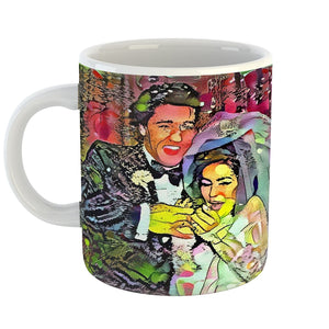 Westlake Art - Priscilla Presley Coffee Mug 11 oz - Modern Abstract Artwork for Home Office Decoration