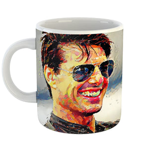 Westlake Art - Tom Cruise Actor Coffee Mug 11 oz - Modern Abstract Artwork for Home Office Decoration