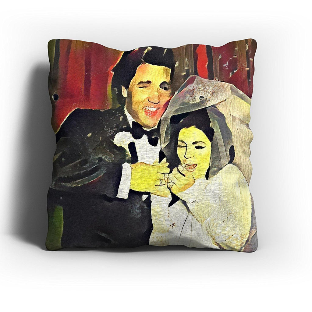 Westlake Art - Priscilla Presley Throw Pillow Cover 16 inch - Modern Abstract Artwork for Home Office Decoration