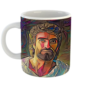 Westlake Art - Jesus Christ Lord Savior Son of God Coffee Mug 11 oz - Modern Abstract Artwork for Home Office Decoration