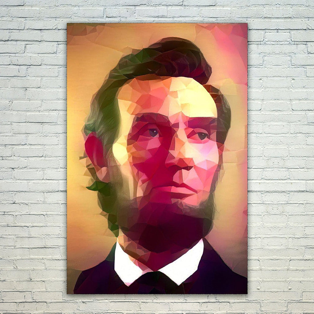 Westlake Art - Abraham Lincoln President 11x17in Modern Poster Prints Artwork Abstract Paintings Pictures Printed Wall Art for Home Office Decorations