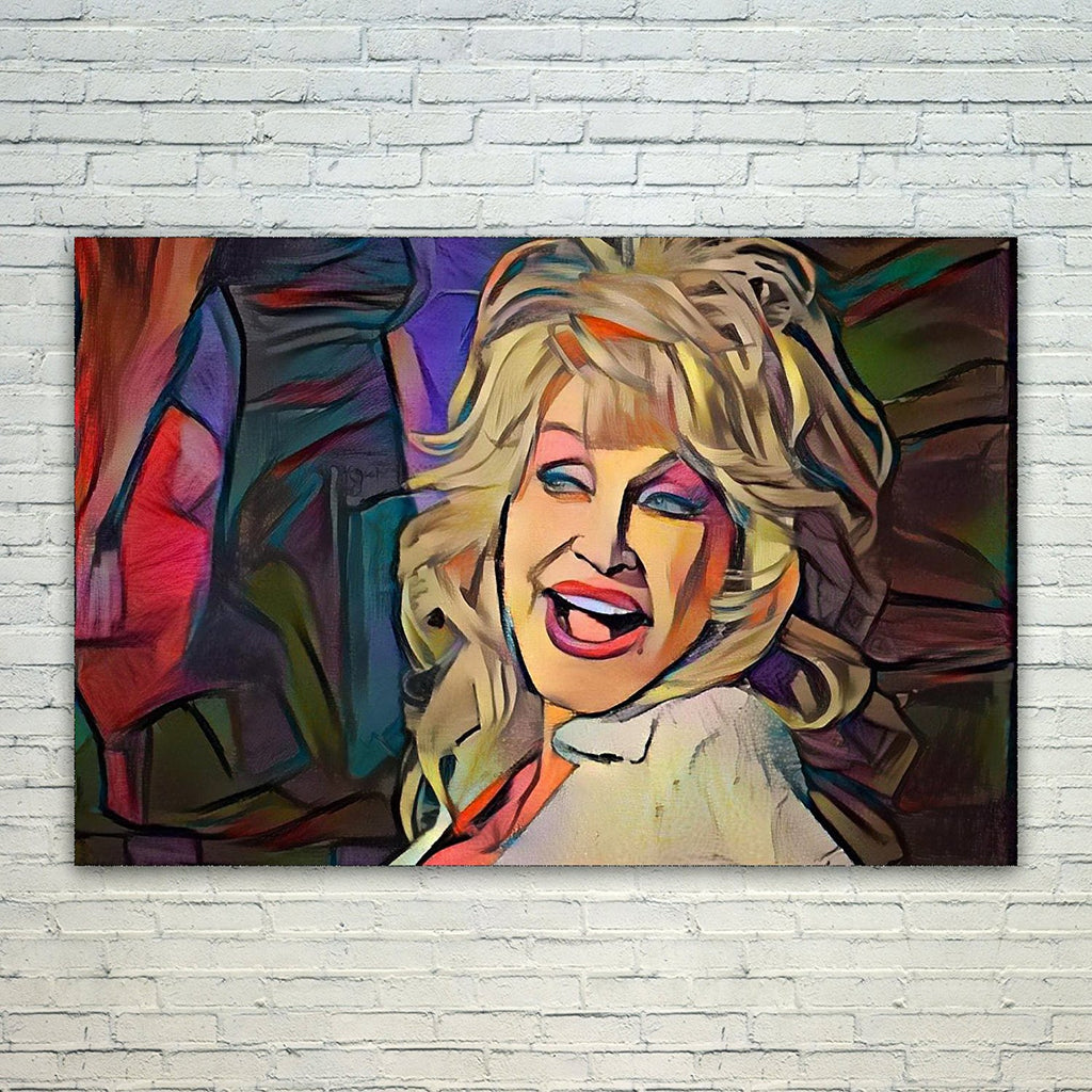 Westlake Art - Dolly Parton Music Artist Pop Art 11x17in Modern Poster Prints Artwork Abstract Paintings Pictures Printed Wall Art for Home Office Decorations