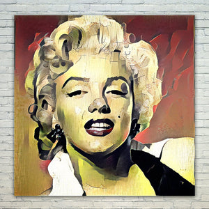 Westlake Art - Marilyn Monroe Iconic Actress 11x17in Modern Poster Prints Artwork Abstract Paintings Pictures Printed Wall Art for Home Office Decorations